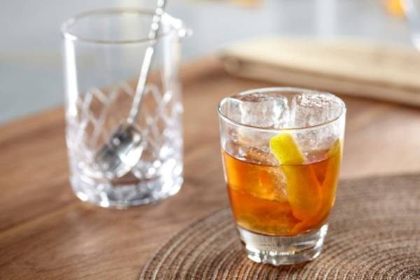 Baby Bourbon Old-Fashioned