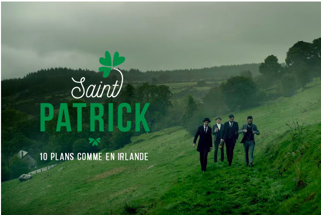 St Patrick's Day is back !