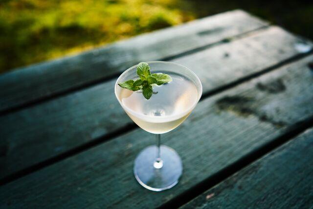 Martini Menthe & Fleur de sureau