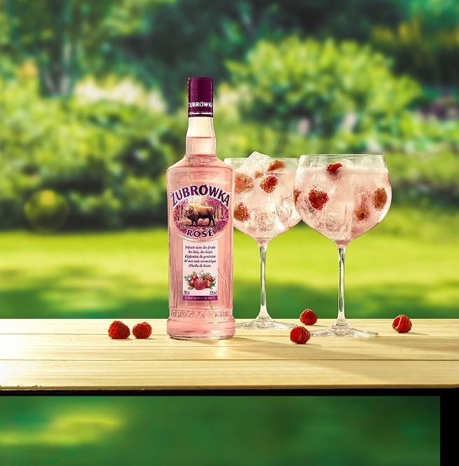Zubrówka Rosé : pour un apéritif frais et fruité !