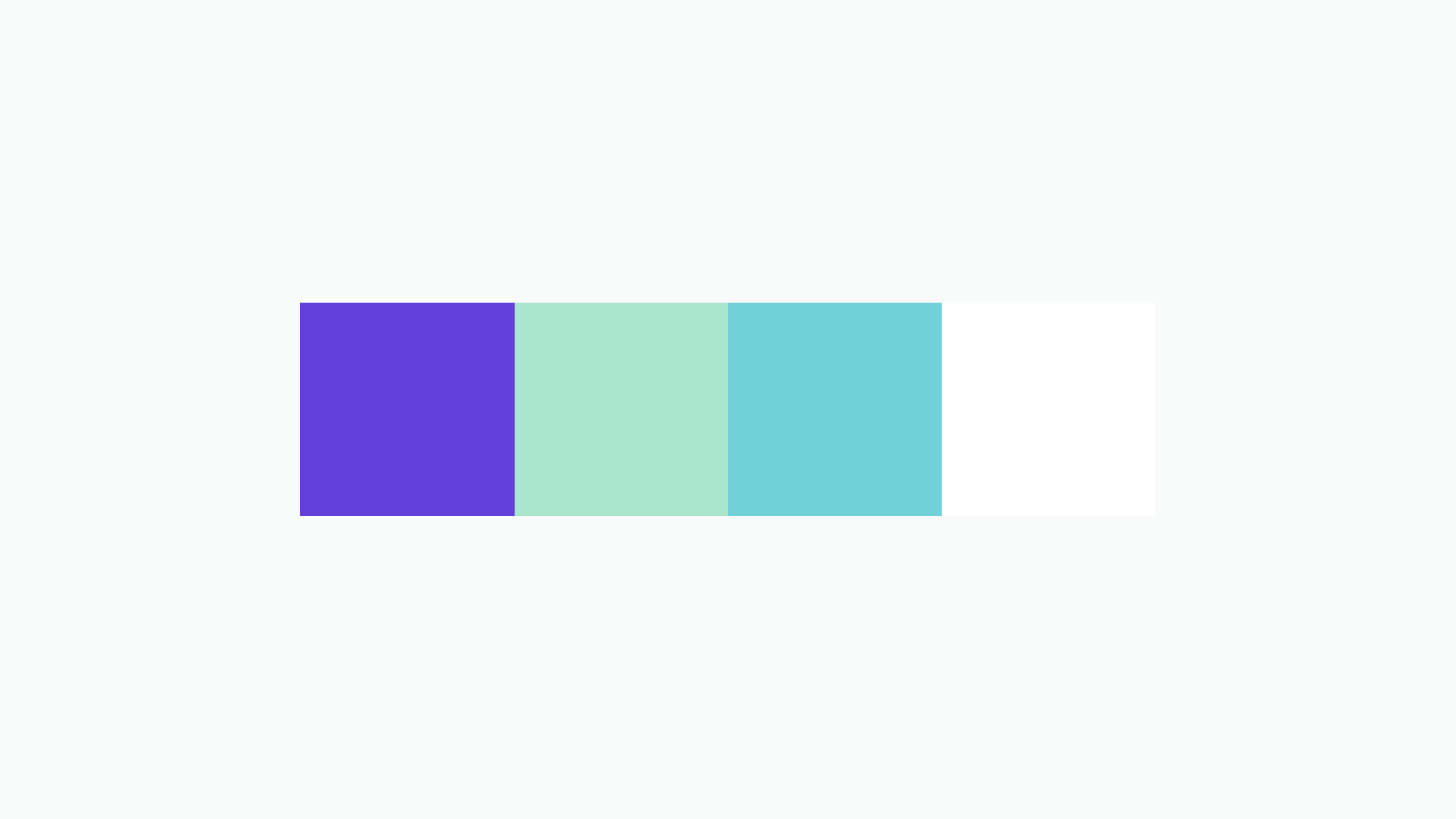 Color scheme of FastCart's platform and brand identity