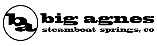Logo for outdoor equipment brand Big Agnes based in Colorado