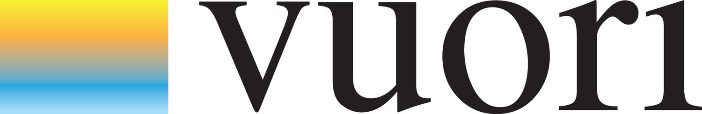 Color logo for high end fitness apparel brand Vuori