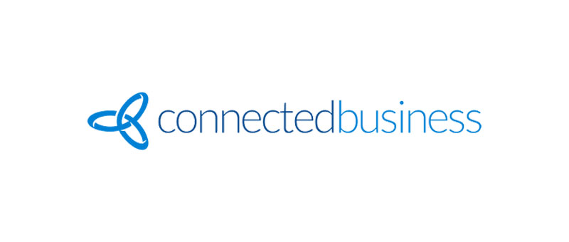 The Connected Business logo. Connected Business is an omni-channel integration solution for business both small and large.