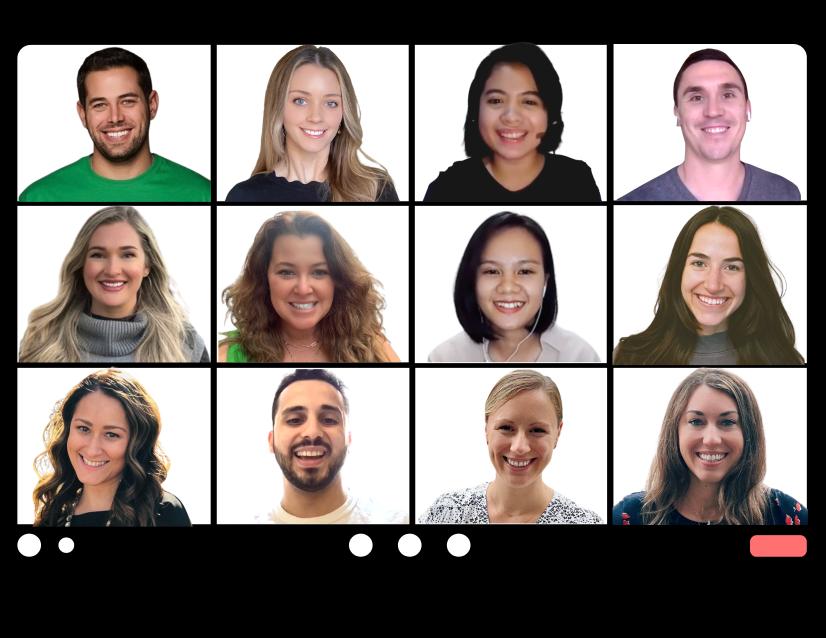 Captivate Talent Team SaaS recruiters