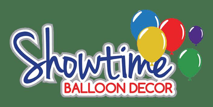 Showtime Balloons logo.