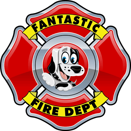 Fantastic Fire Department logo.