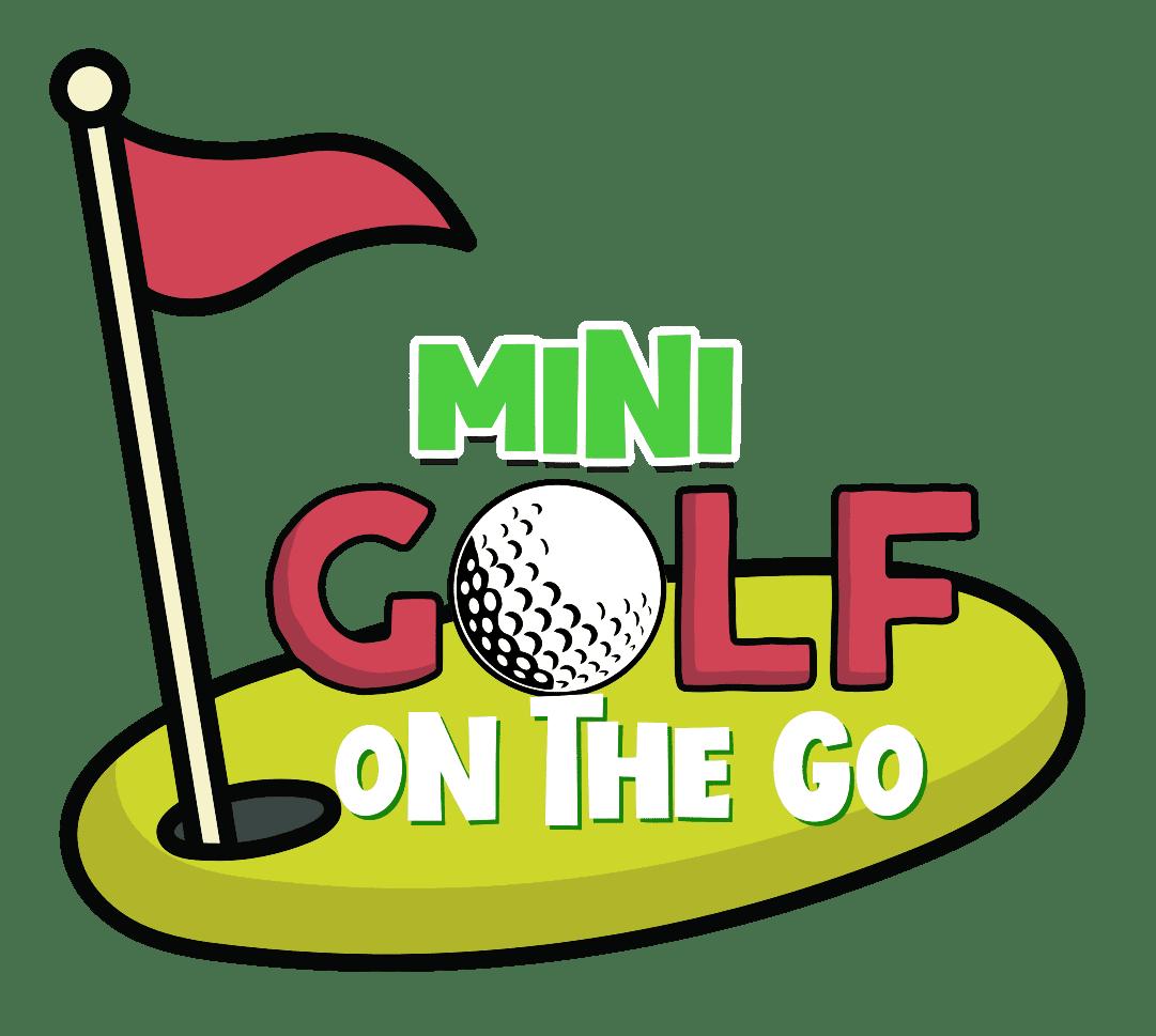 Mini Golf On The Go logo.