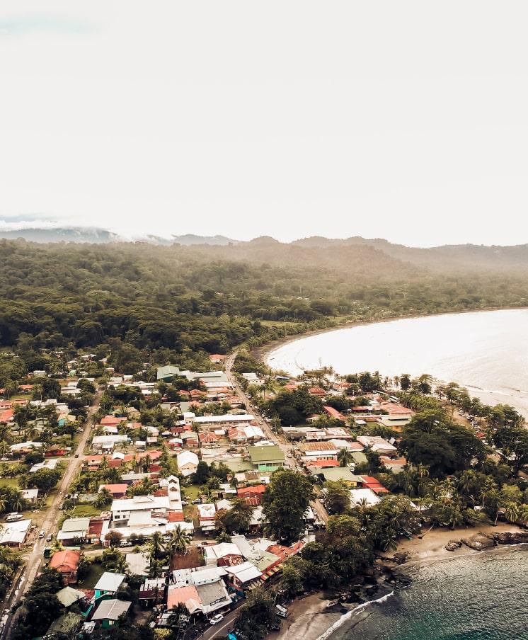 vista de Puerto Viejo de Talamanca