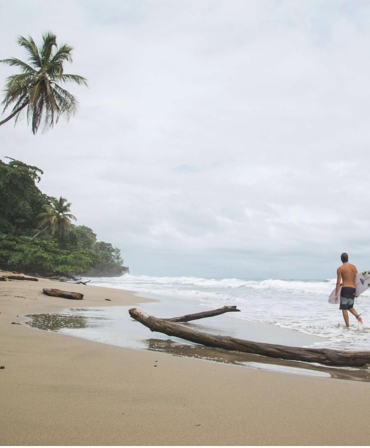 Un buen lugar para surfear