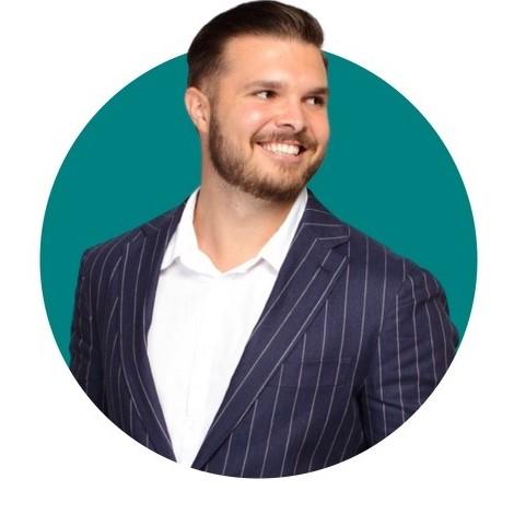 Headshot of Cameron Schroeder CEO of RHEA Technologies