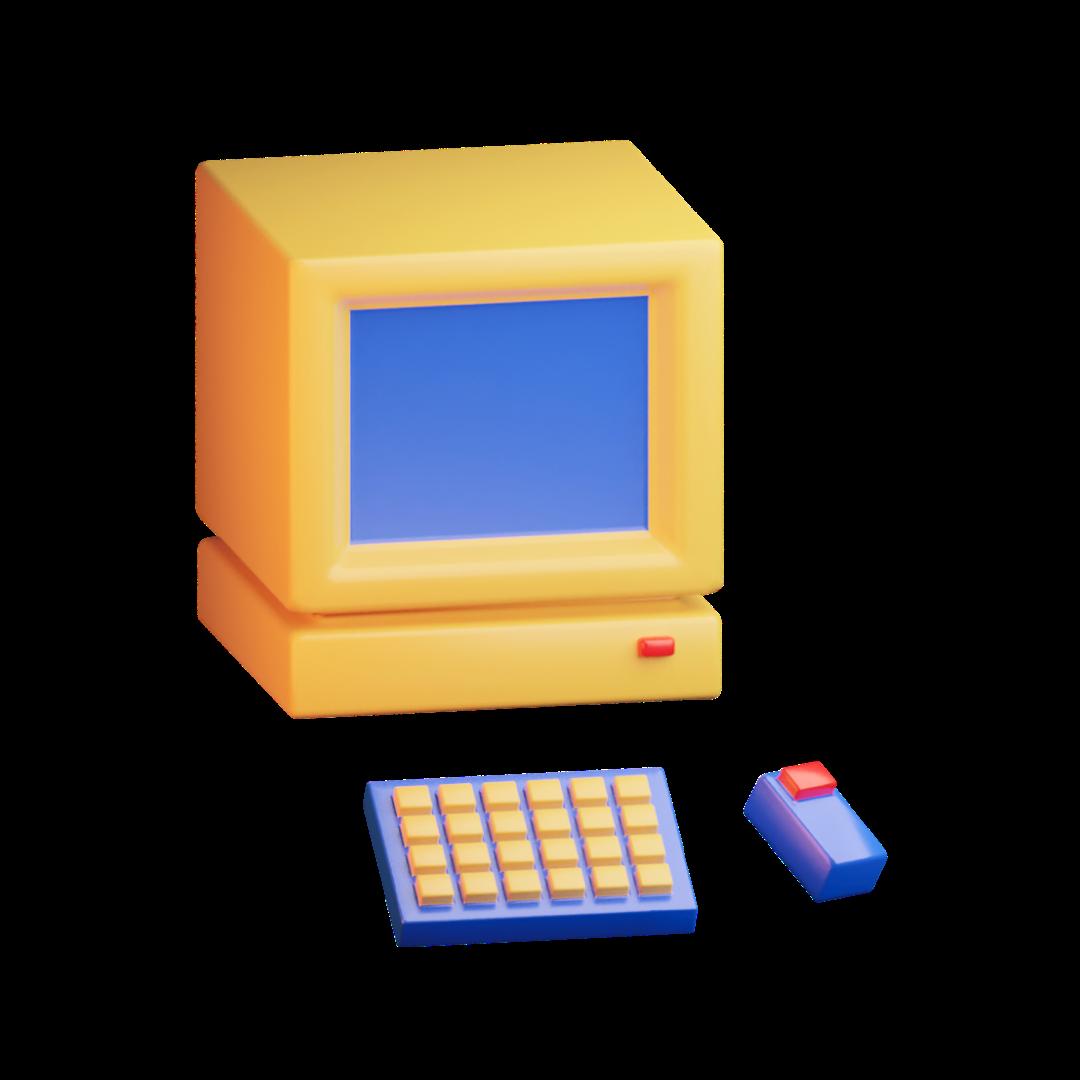 cartoon 3d computer
