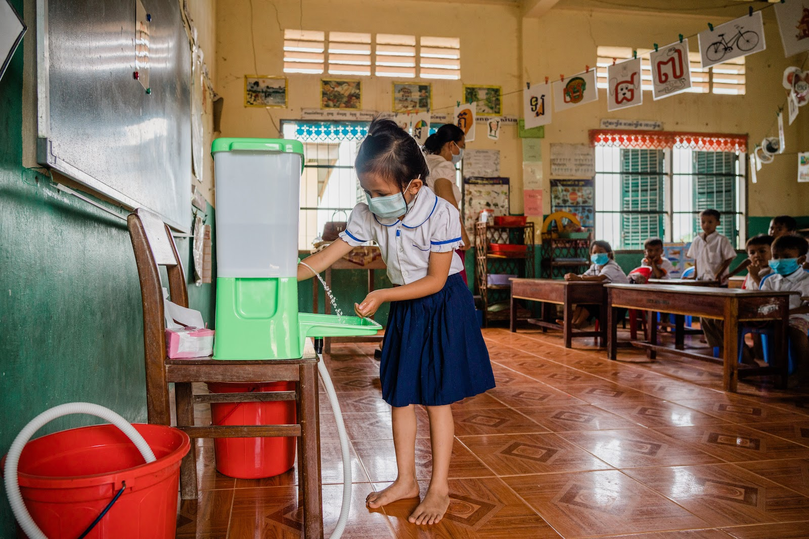 COVID-19 WHO WASH Technical Brief (WHO, UNICEF)