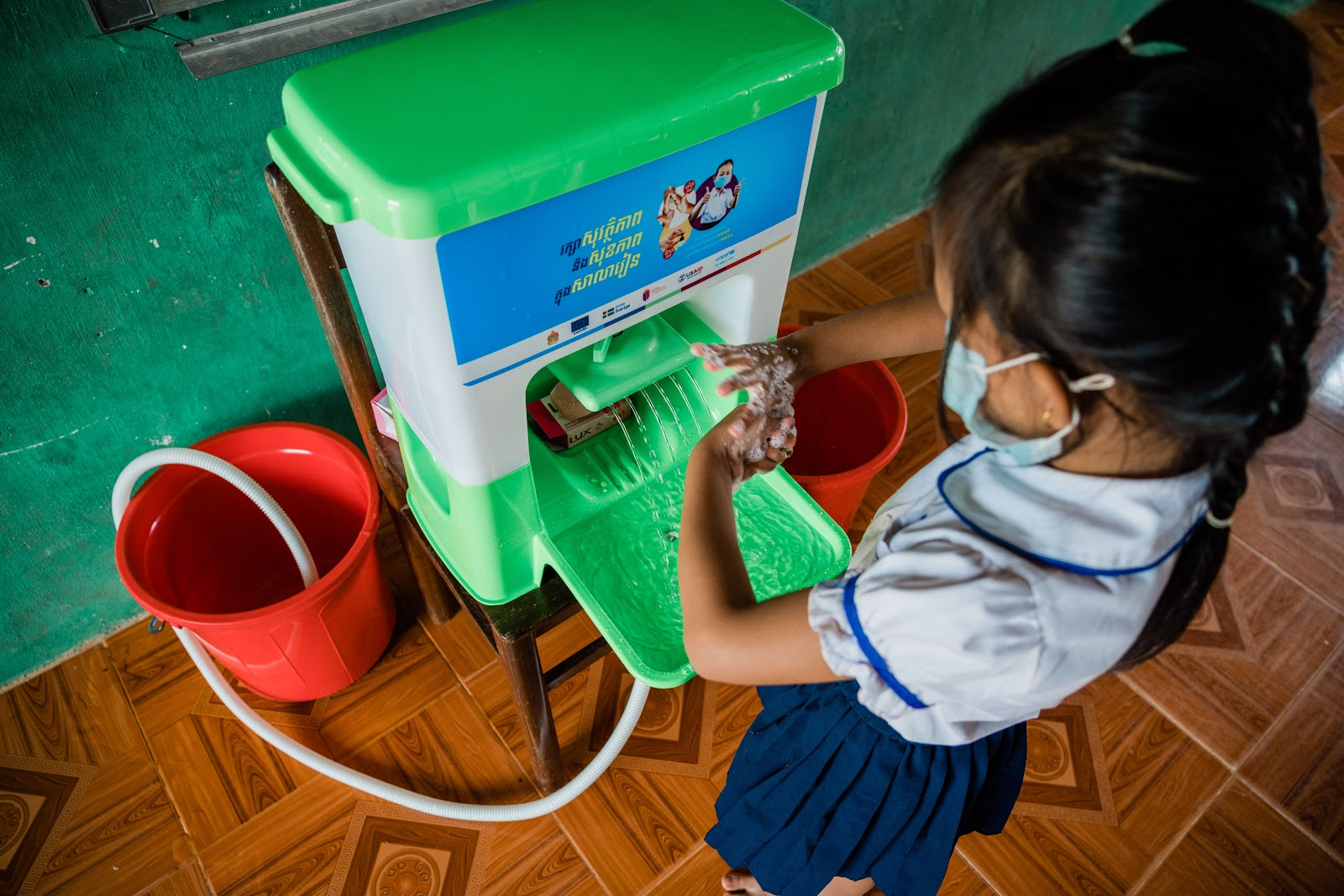 UNICEF: Handwashing Stations and Supplies for COVID-19