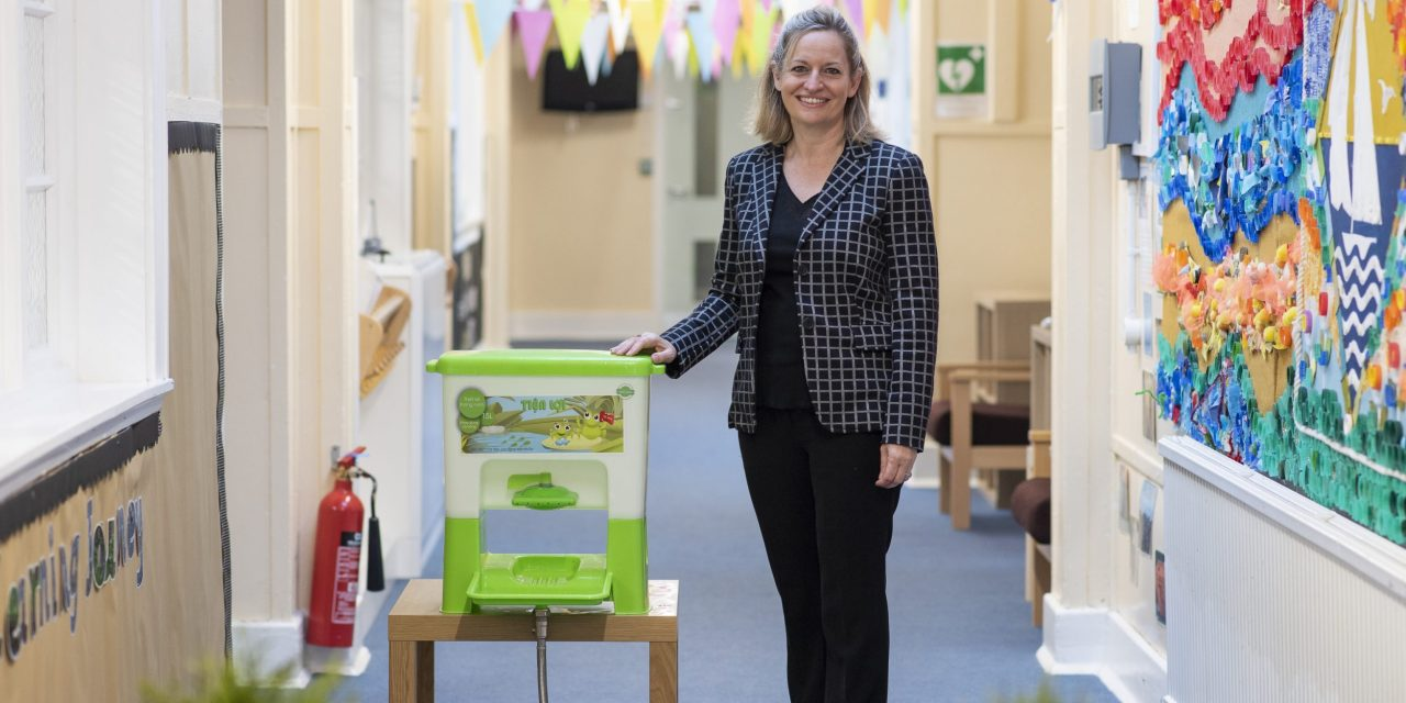 UK Businesswoman leading the fight against COVID-19 in schools