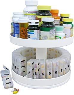 North American Health + Wellness Herrschners Revolving Medicine Center, White (JB6300)