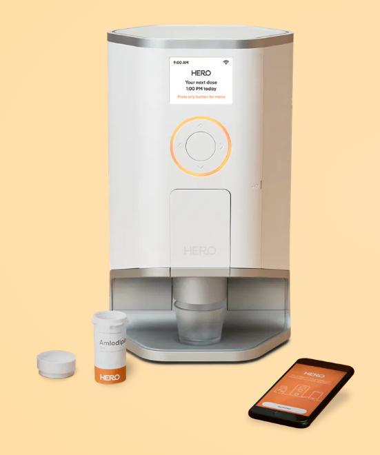 Pill Dispenser with Alarm