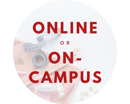 Deciding if you should take our online or on-campus? Click on the button to learn more!