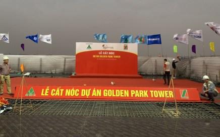 Goldenpark tower Cầu Giấy dự kiến cất nóc trong quý IV 2021