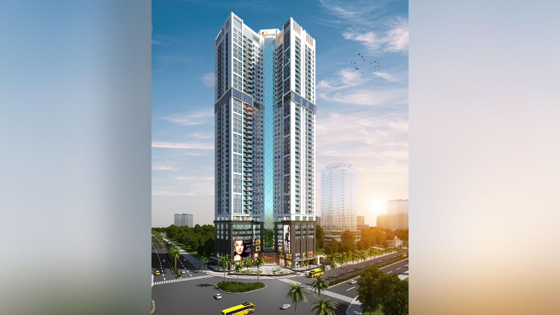 Hình ảnh mới nhất về dự án Golden Park Tower 2