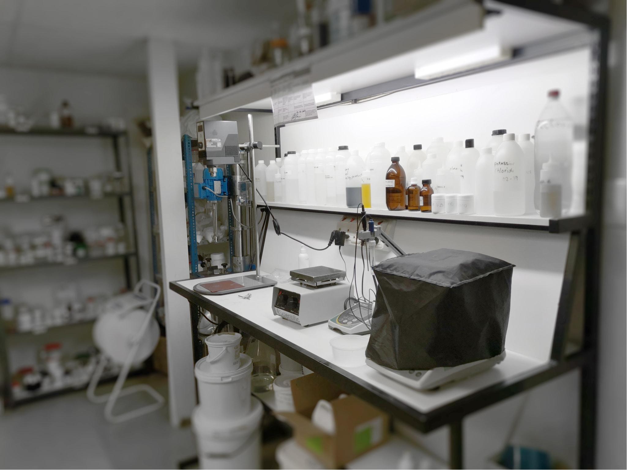 BioEarth Laboratories' research facilities