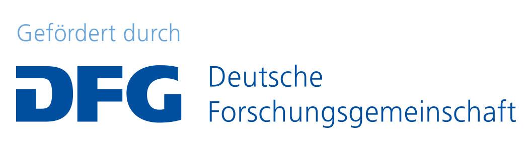 Logo DFG Deutsche Forschungsgemeinschaft