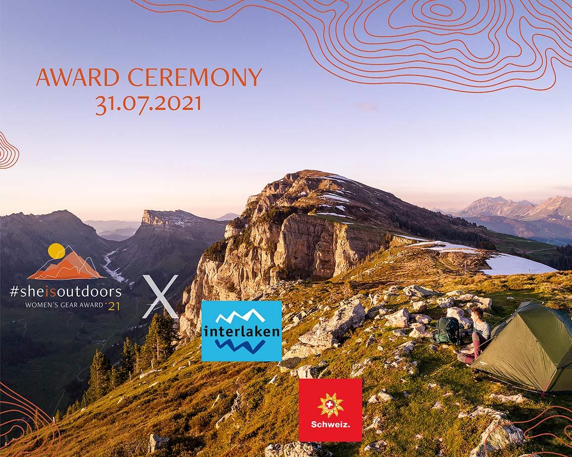 Award Ceremony July 31st 2021 in Interlaken Switzerland