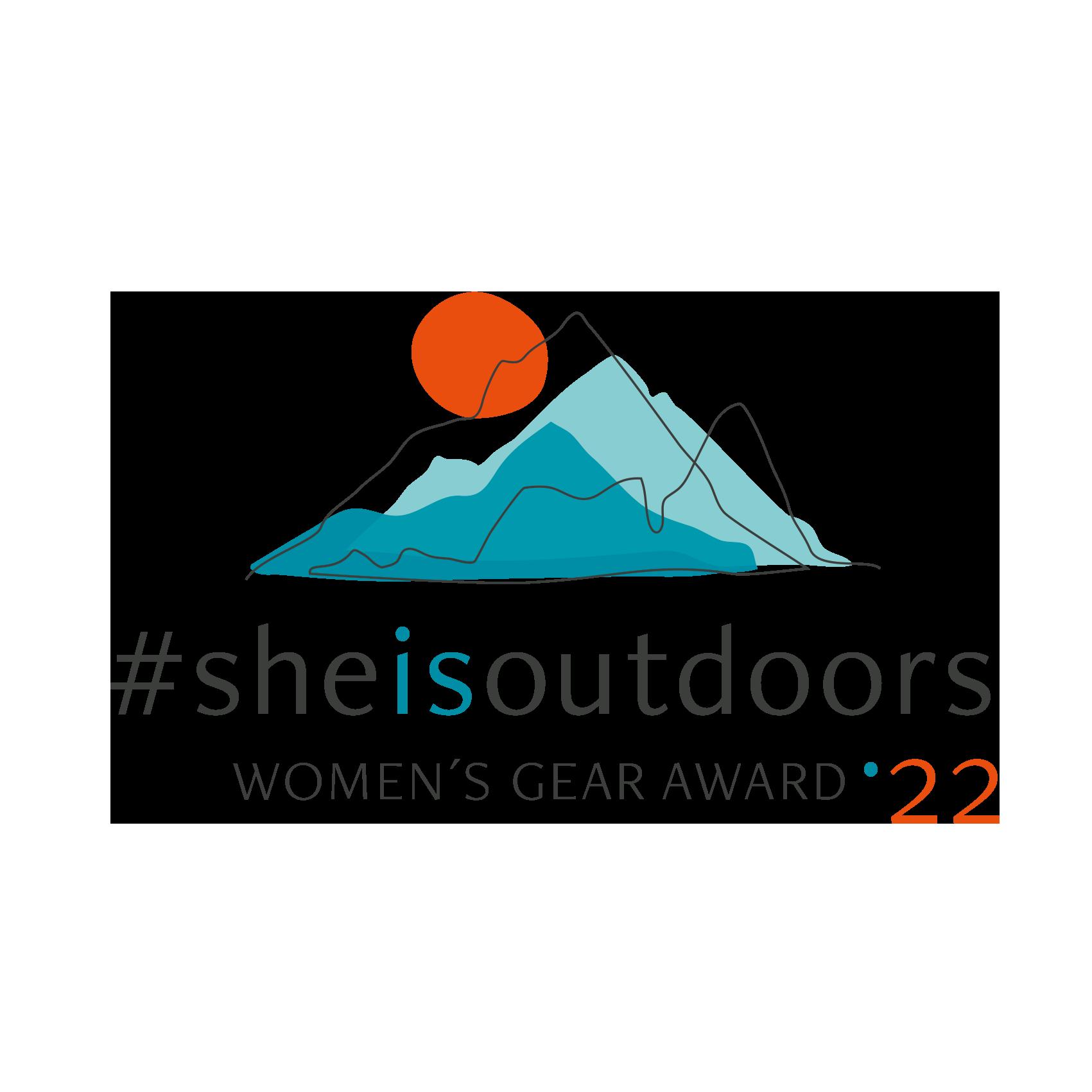 WOMEN'S GEAR AWARD - SUMMER 21 #she is outdoors –