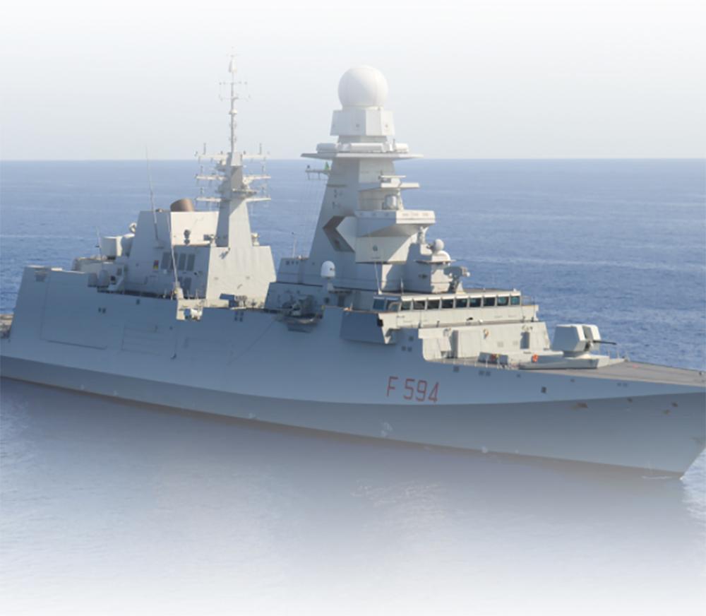 L'Italia consegna una seconda fregata FREMM all'Egitto