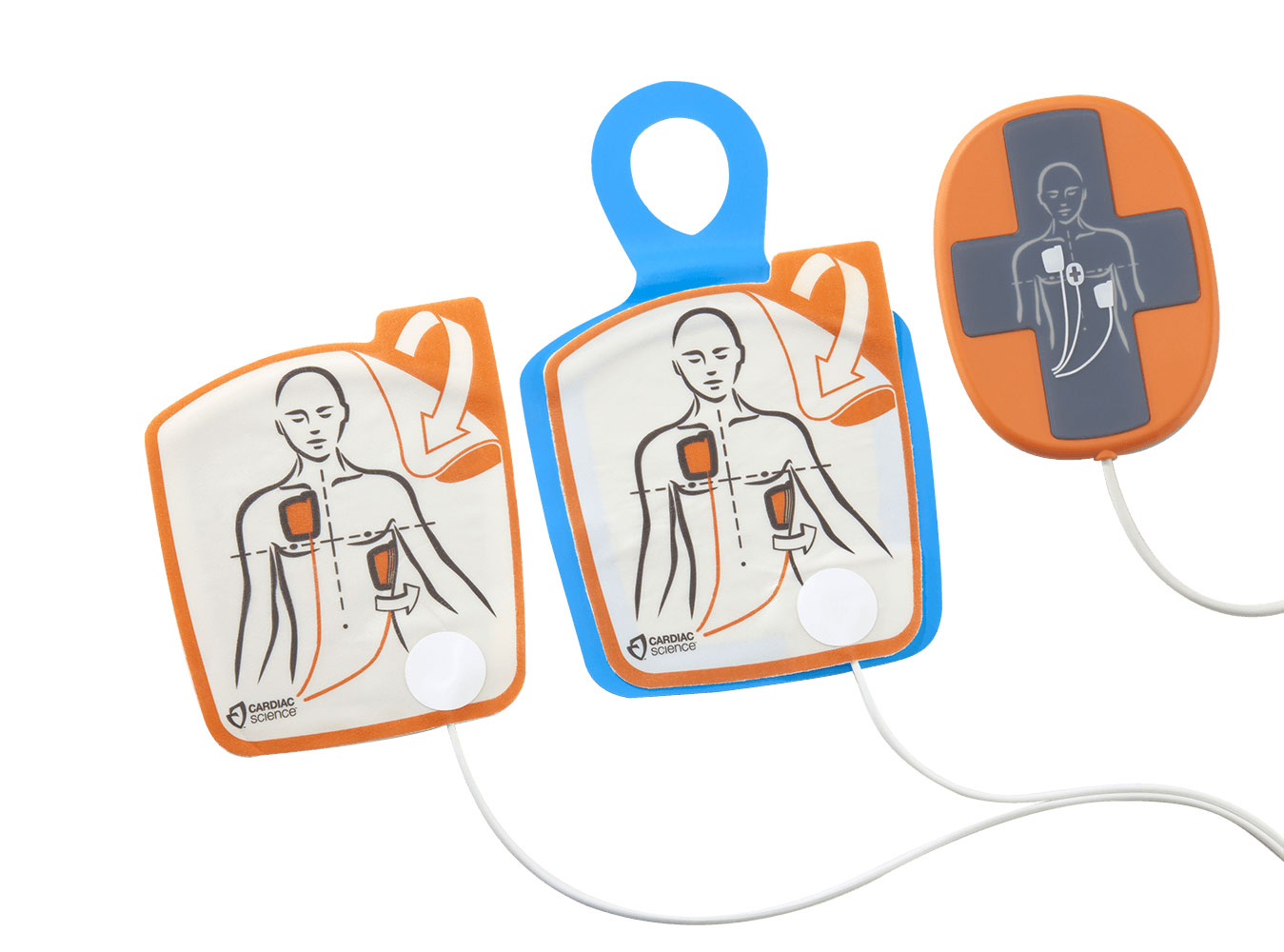 Powerheart G5 AED Replacement Pads – with CPR Monitor – Adult