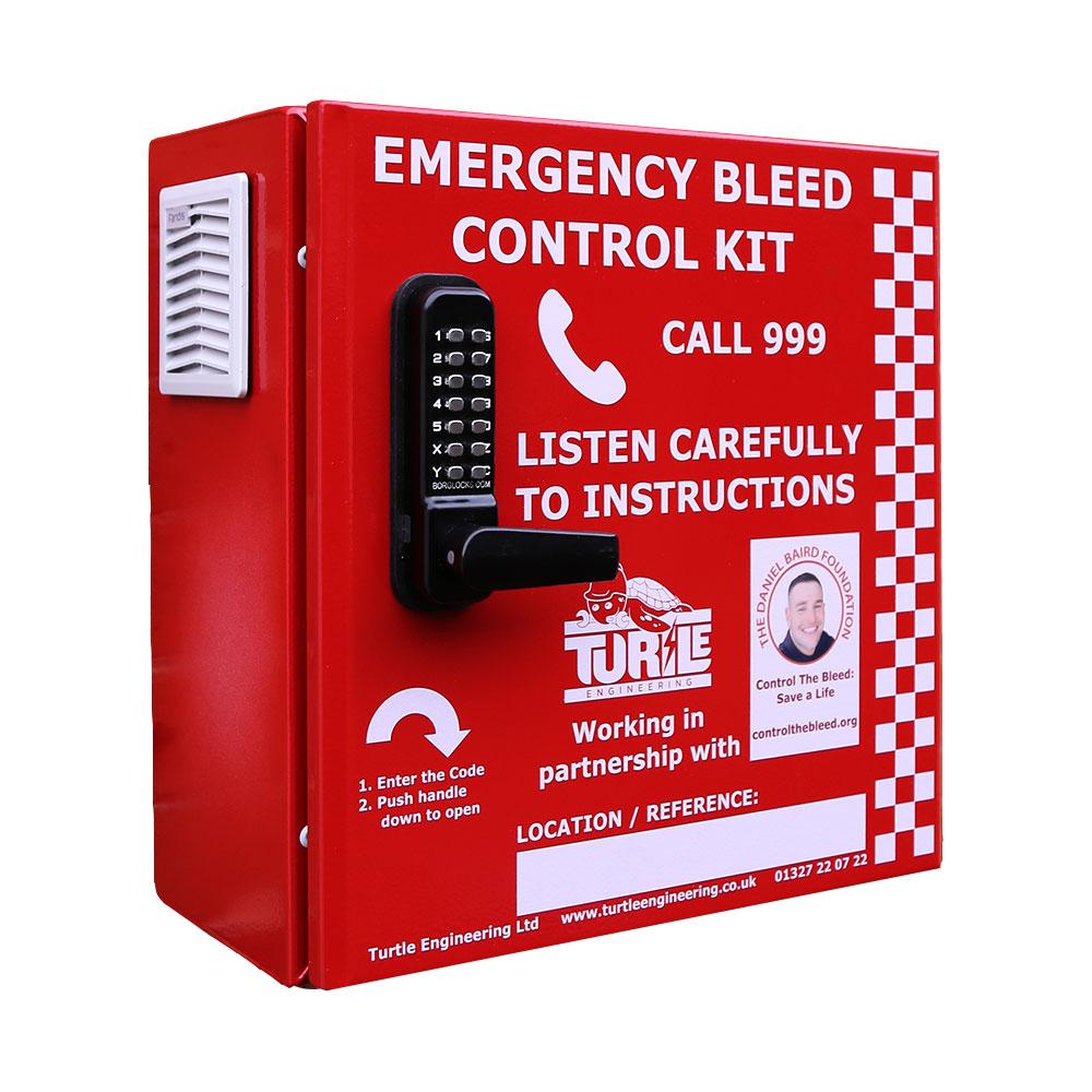 Turtle Engineering Emergency Bleed Control Cabinet – Locked