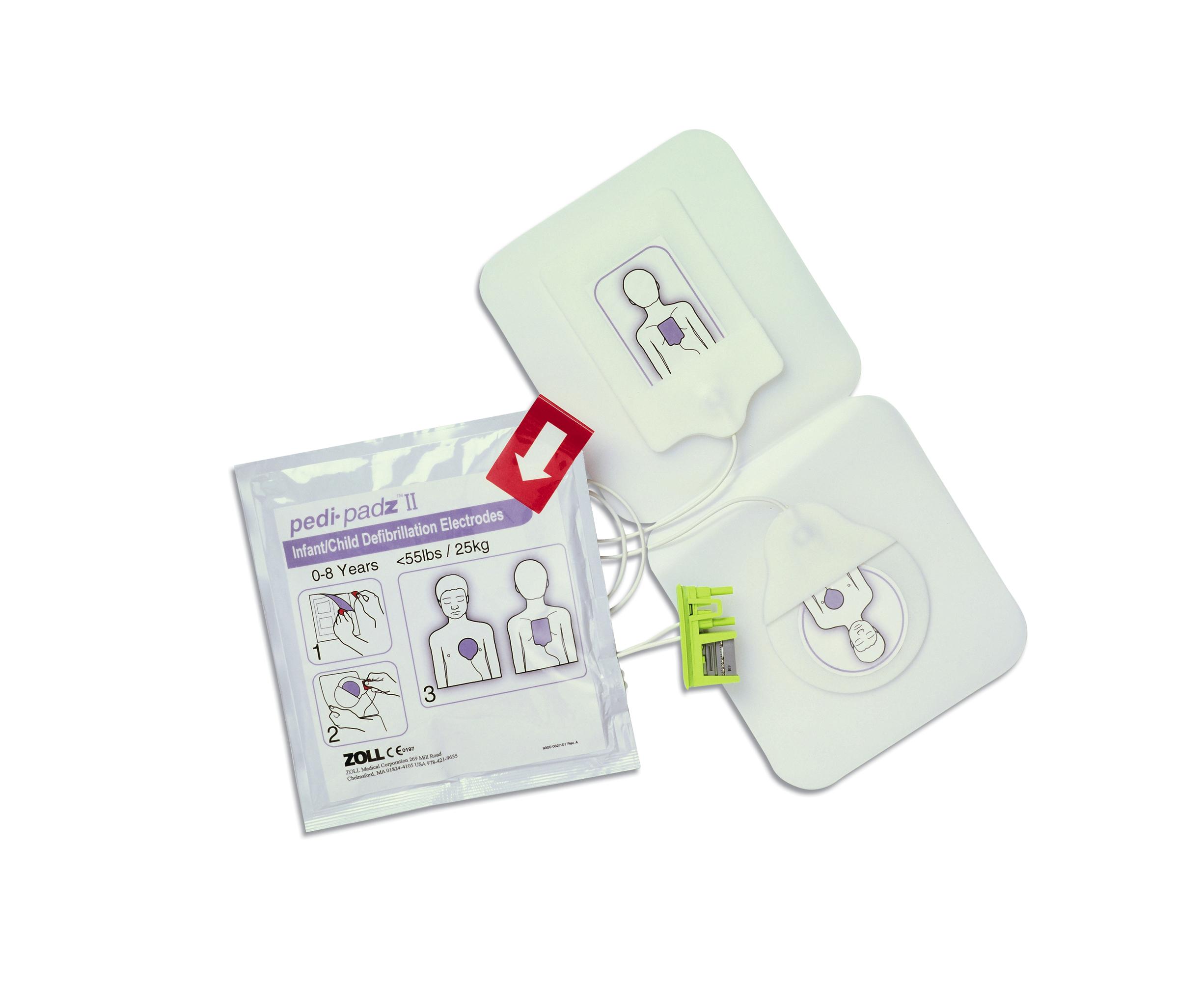 Zoll AED Plus Pedi-Pads II - Paediatric pads