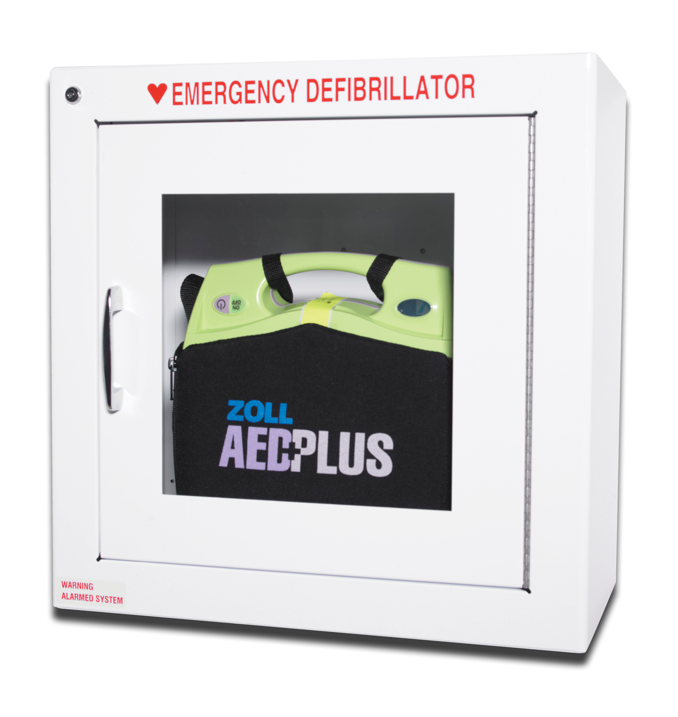 """Zoll AED Plus Standard Wall Cabinet (internal, 7"""" and 9"""" depths)"""