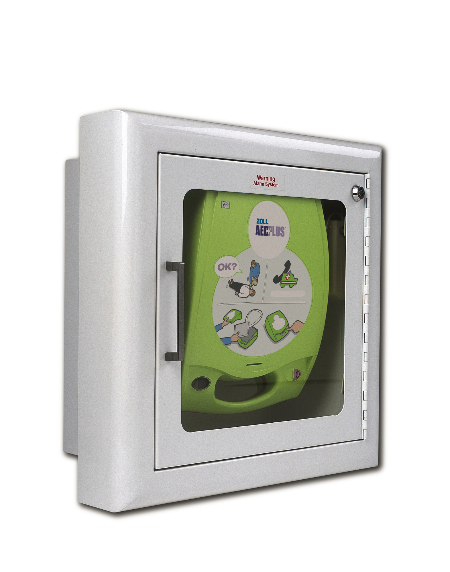 Zoll AED Plus Recessed Wall Cabinet