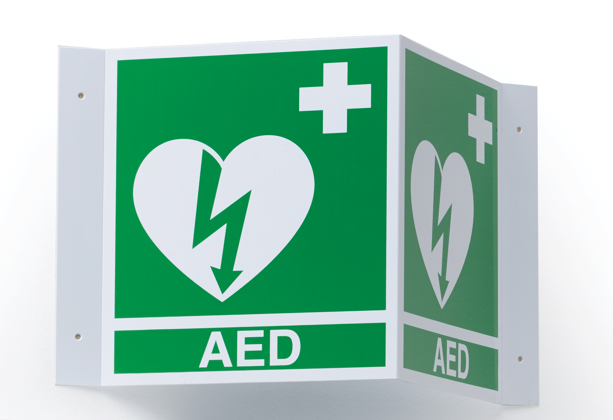 3D AED Wall Sign