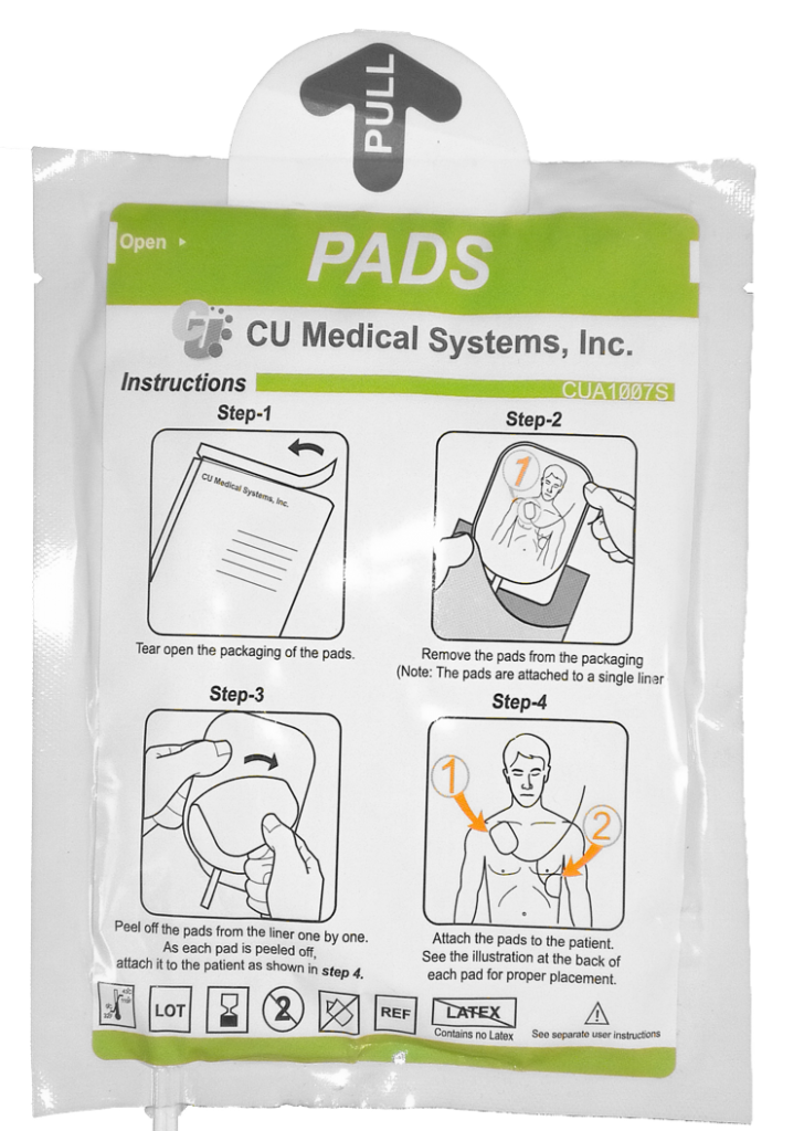 iPAD SP1 and SP2 Replacement Defibrillator Electrode Pads - Adult and Child