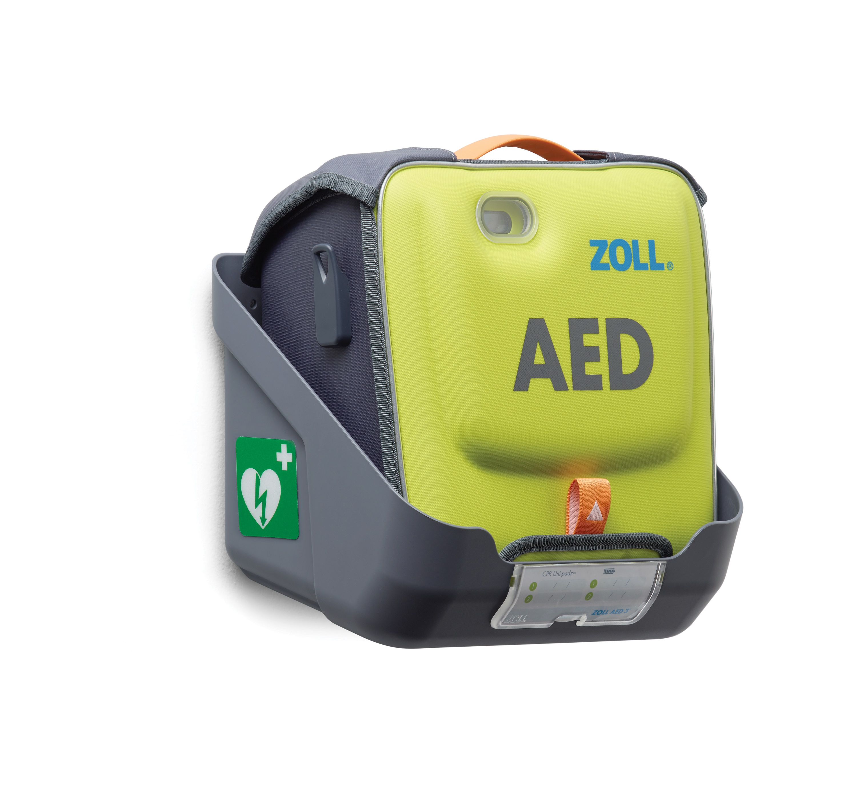 Zoll AED 3 Wall Mount Holder For AED3 with carry case