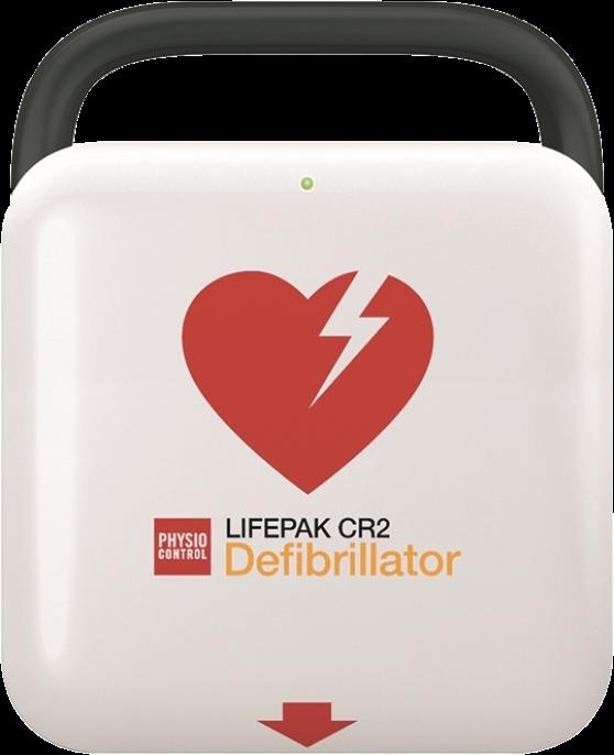 LifePak CR2 USB Semi-Automatic Defibrillator