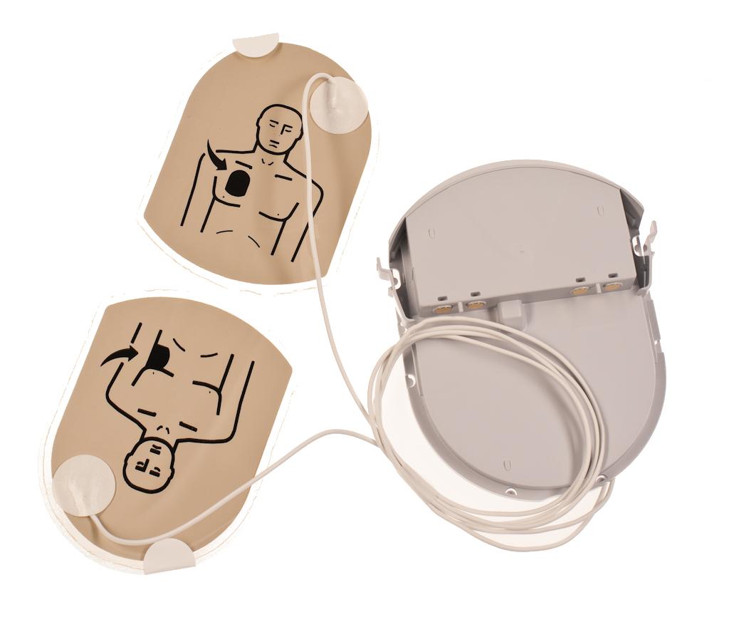Heartsine Samaritan Adult Pak (Grey) - Battery & Pads