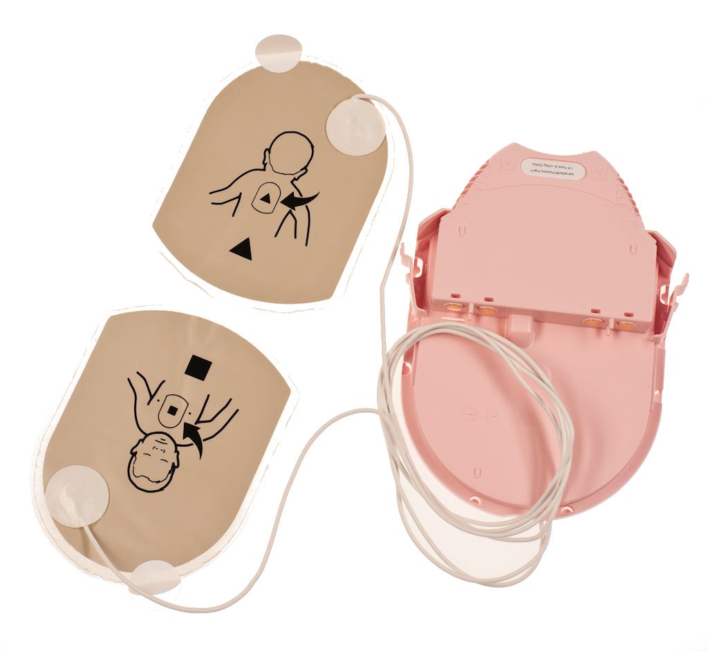 Heartsine Samaritan Child Pak (Pink) - Battery & Pads