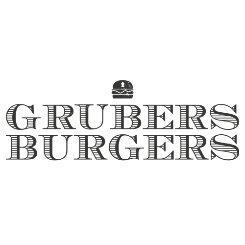 Grubers Logo - One of Yollty's Top Burger-places in Luxembourg