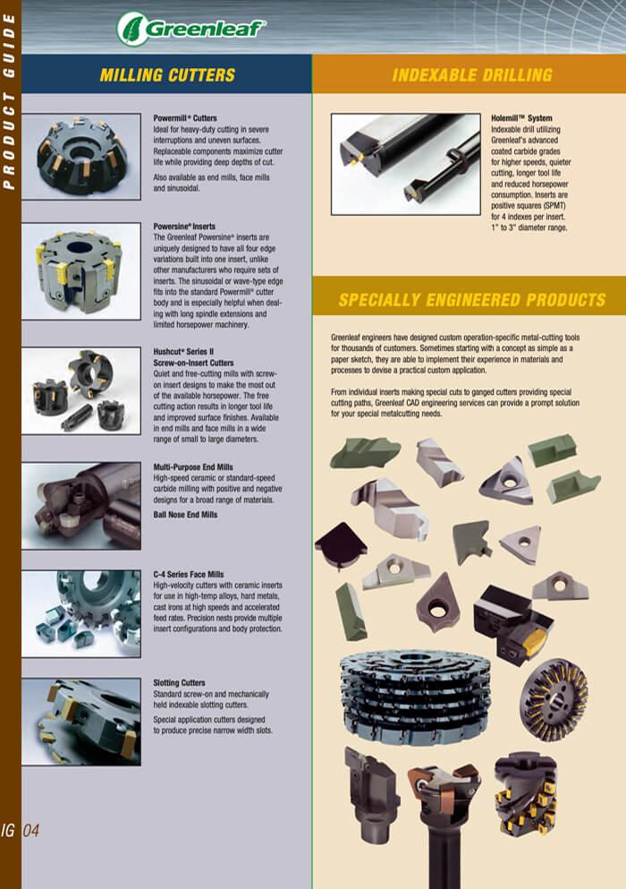 Greenleaf catalogo generale