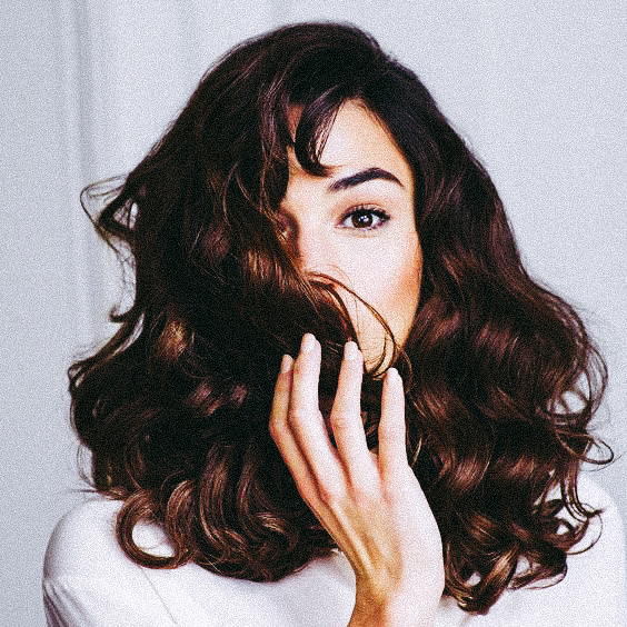 foto van vrouw met bruin haar