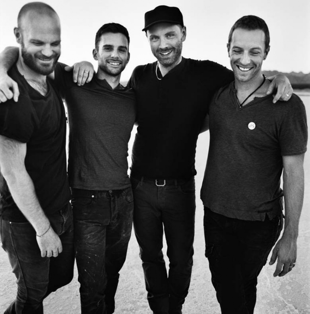 Picture of music group Coldplay