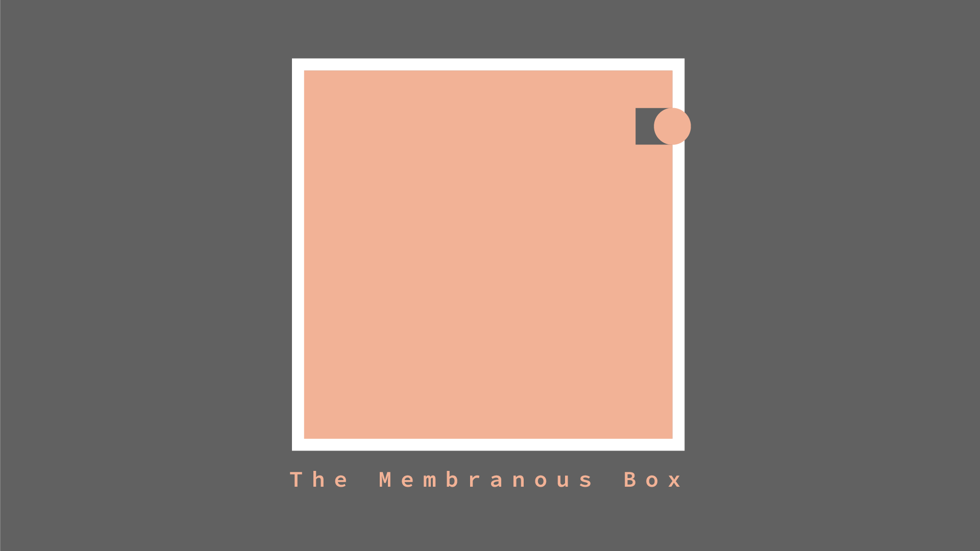 Key visual for The Membranous Box