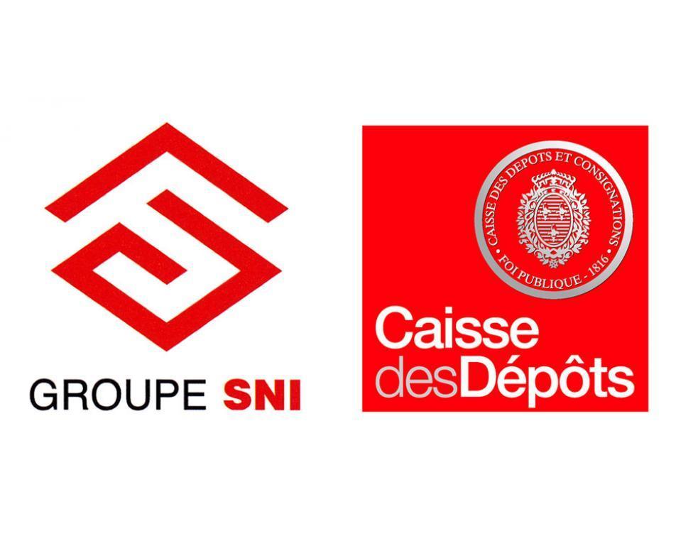 logo Groupe SNI et Caisse des Dépôts, partenaire immobilier de Colonies