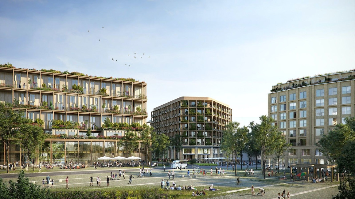 Coliving project at Porte de Montreuil by Colonies