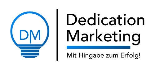 Dedication Marketing Logo - Webdesign Saarland / Rheinlandpfalz