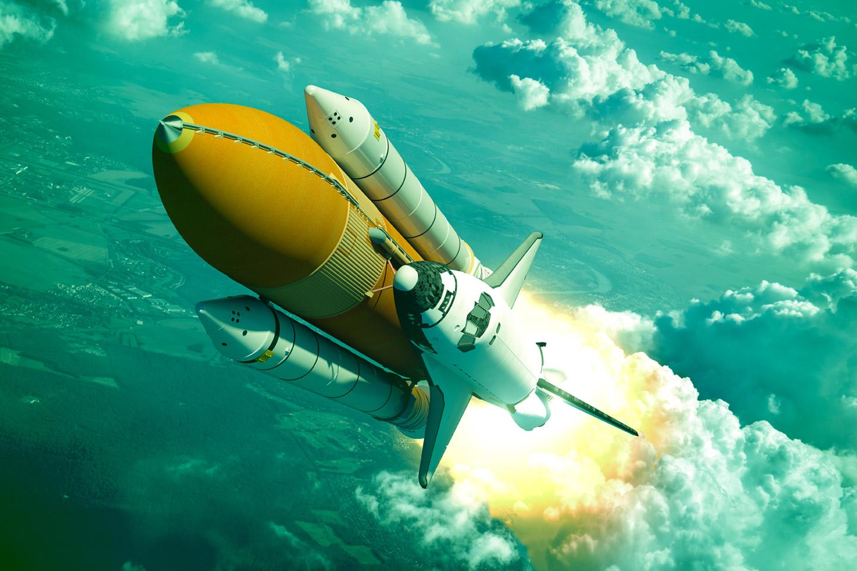 foguete-lancado-ao-espaco