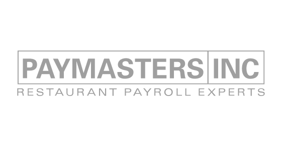 """Paymasters Inc. logo. Tag line reads """"Restaurant Payroll Experts"""""""